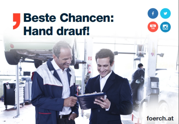 Beste Chancen: Hand drauf! foerch.at